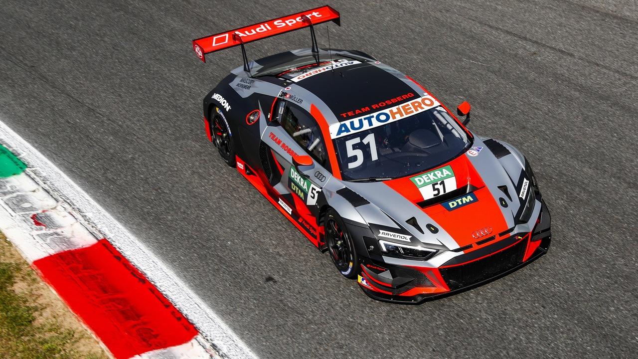 Kelvin Van der Linde conquista Monza para estrenar palmarés en el DTM