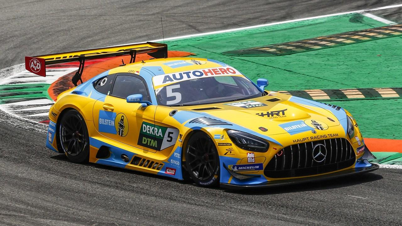 Liam Lawson gana la primera carrera del DTM bajo normativa GT3 en Monza