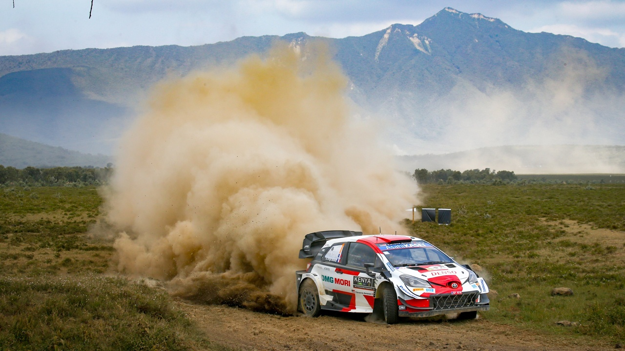 Rain scares Neuville and upsets the Safari Rally podium