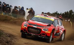 Mads Ostberg 'caldea' la categoría WRC2 del Rally de Italia-Cerdeña