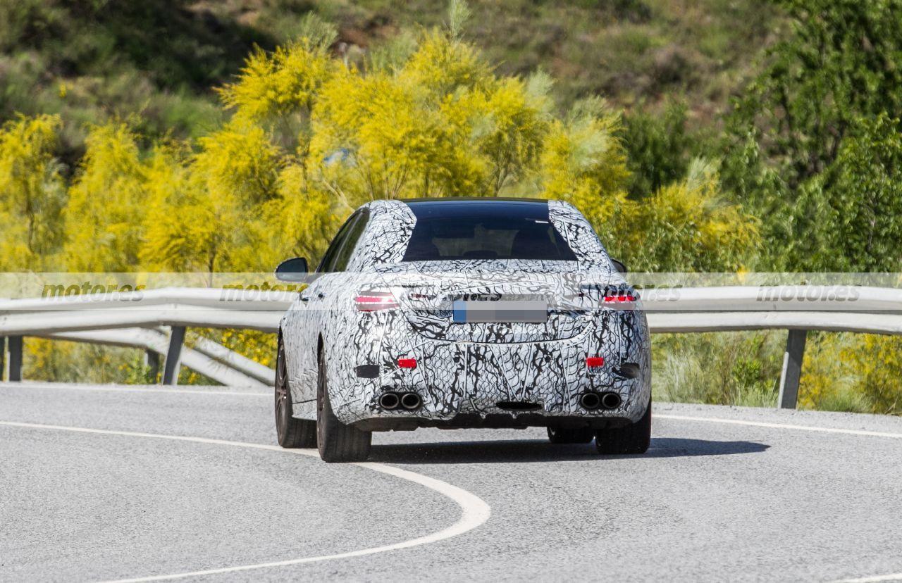 Foto espía Mercedes-AMG C 43 4MATIC Berlina 2022