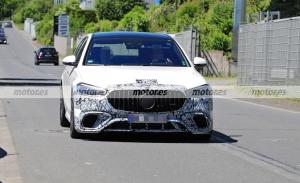 El nuevo Mercedes-AMG S 63 e 2022 se destapa en nuevas fotos espía