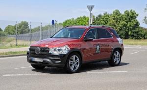 Primeras imágenes del futuro Mercedes Clase GLE 2022 facelift