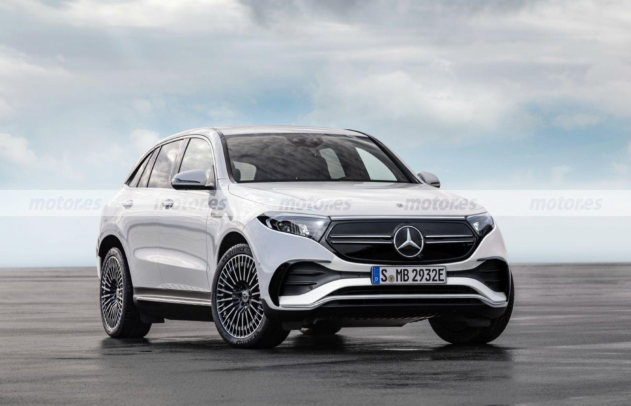 Mercedes EQE SUV 2023, el quinto eléctrico adelantado en esta recreación