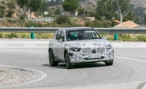 Cazado en fotos espía el nuevo Mercedes GLC PHEV 2023