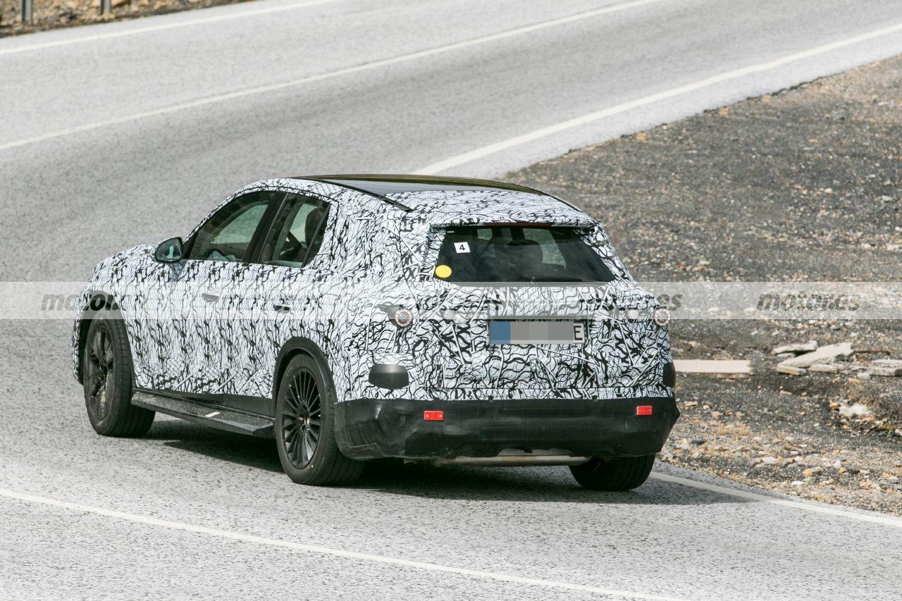 Foto espía Mercedes GLC PHEV 2023 - exterior