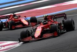 Sainz admite el fiasco de Ferrari con los neumáticos: «Muy mal en general»