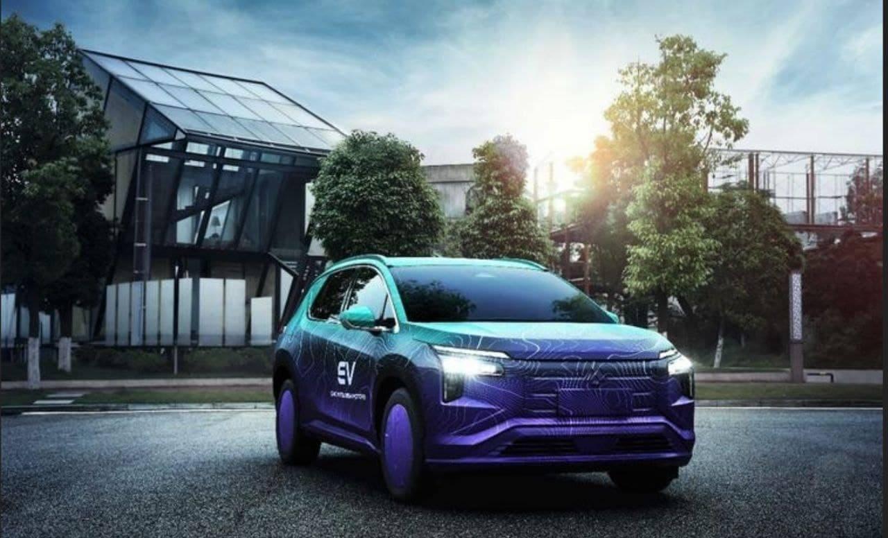 El nuevo Mitsubishi Airtrek, un SUV eléctrico, cazado en fotos espía en China