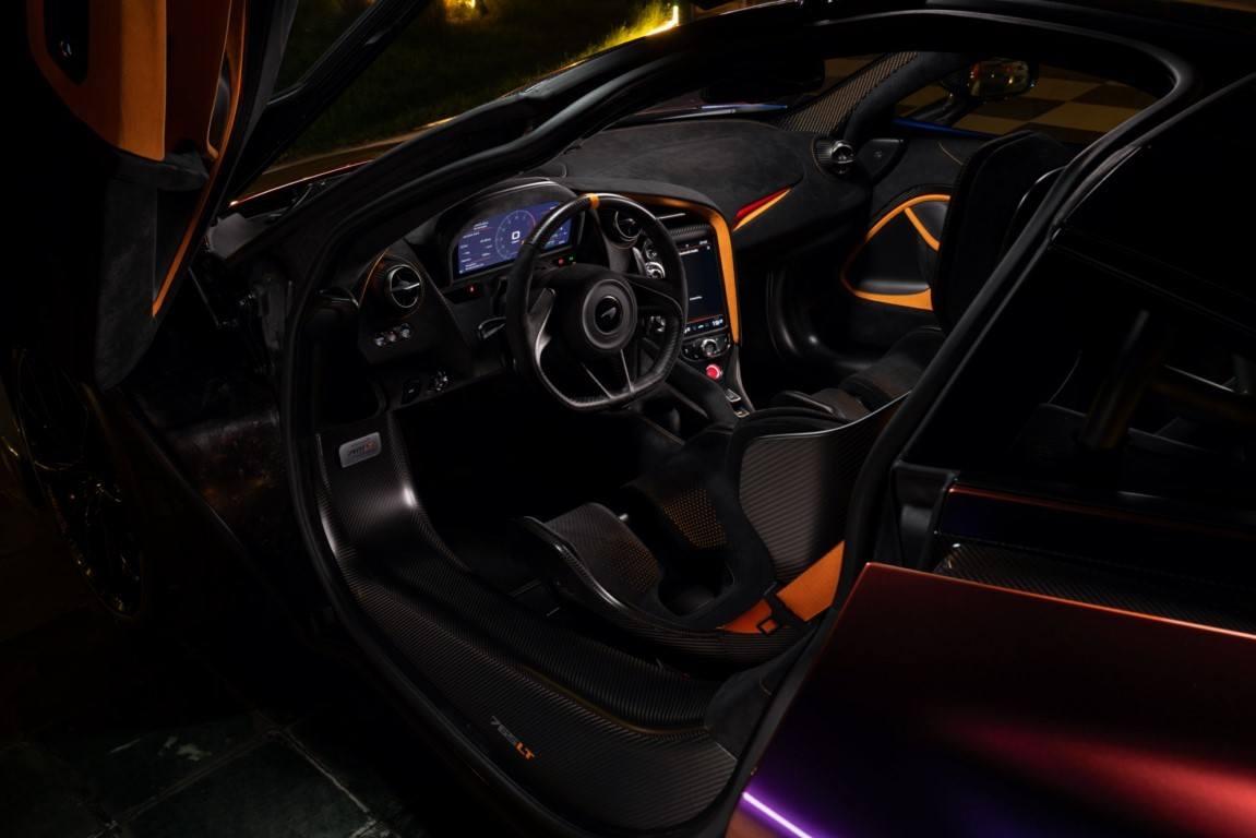 Foto MSO McLaren 765LT - interior