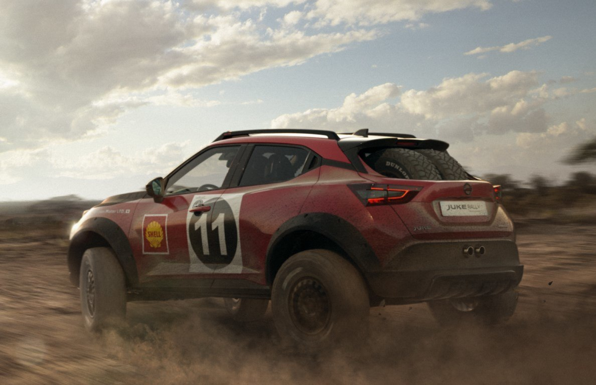 Foto Nissan JUKE Rally Tribute Concept - exterior
