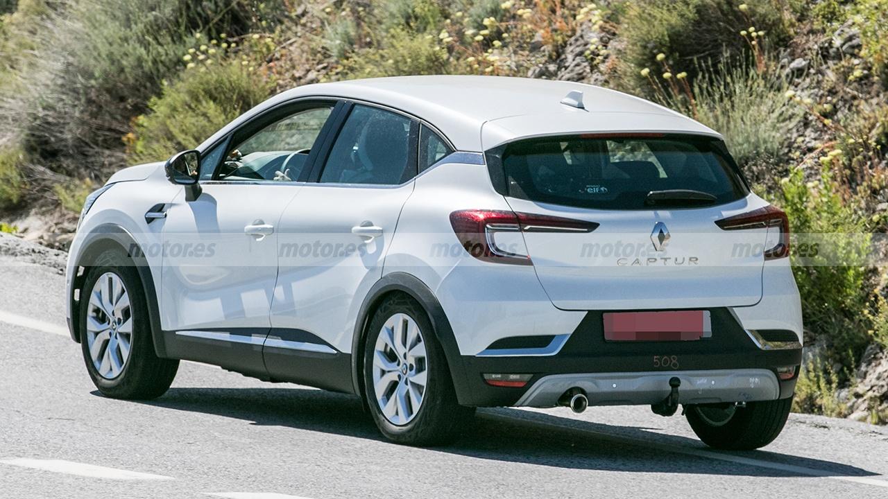 Foto espía del nuevo motor de Renault