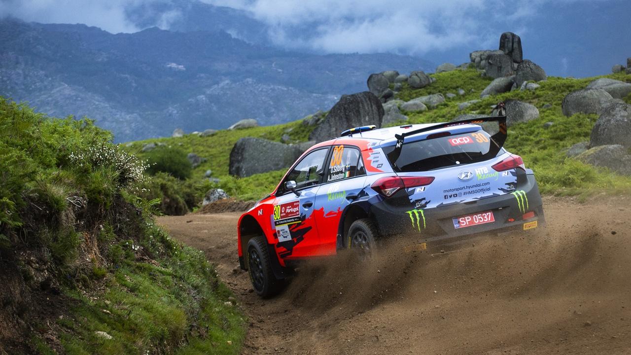 Oliver Solberg estará en el Rally di Alba con un Hyundai i20 WRC Coupé