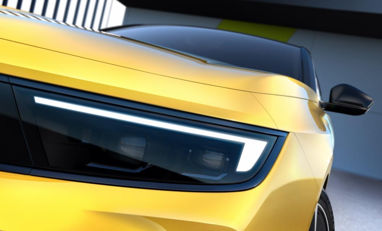 Primeros teasers del nuevo Opel Astra 2022, el nuevo compacto debutará en septiembre