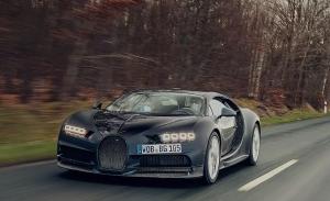 La historia del quinto prototipo del Bugatti Chiron, ocho años en pruebas