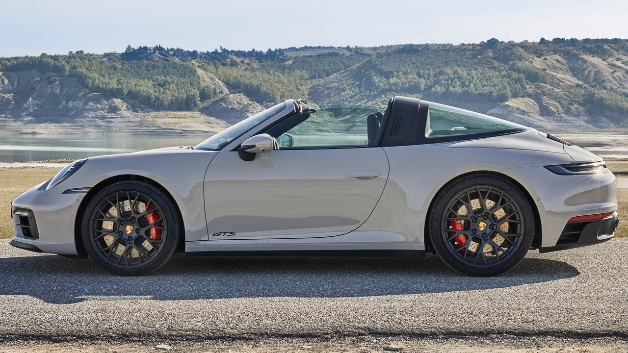 Porsche 911 Targa 4 GTS 2022 - lateral