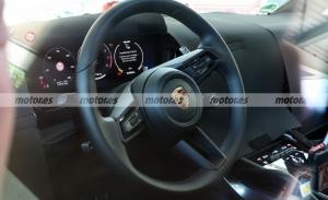 Echa un vistazo al interior del Porsche Cayenne Facelift 2023 en estas fotos