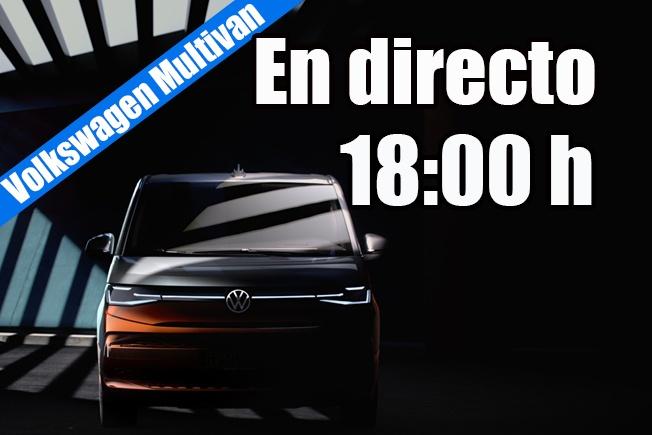 Sigue en directo la presentación del nuevo Volkswagen Multivan 2021