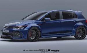 PRIOR Design transforma al Volkswagen Golf GTI en un musculado deportivo