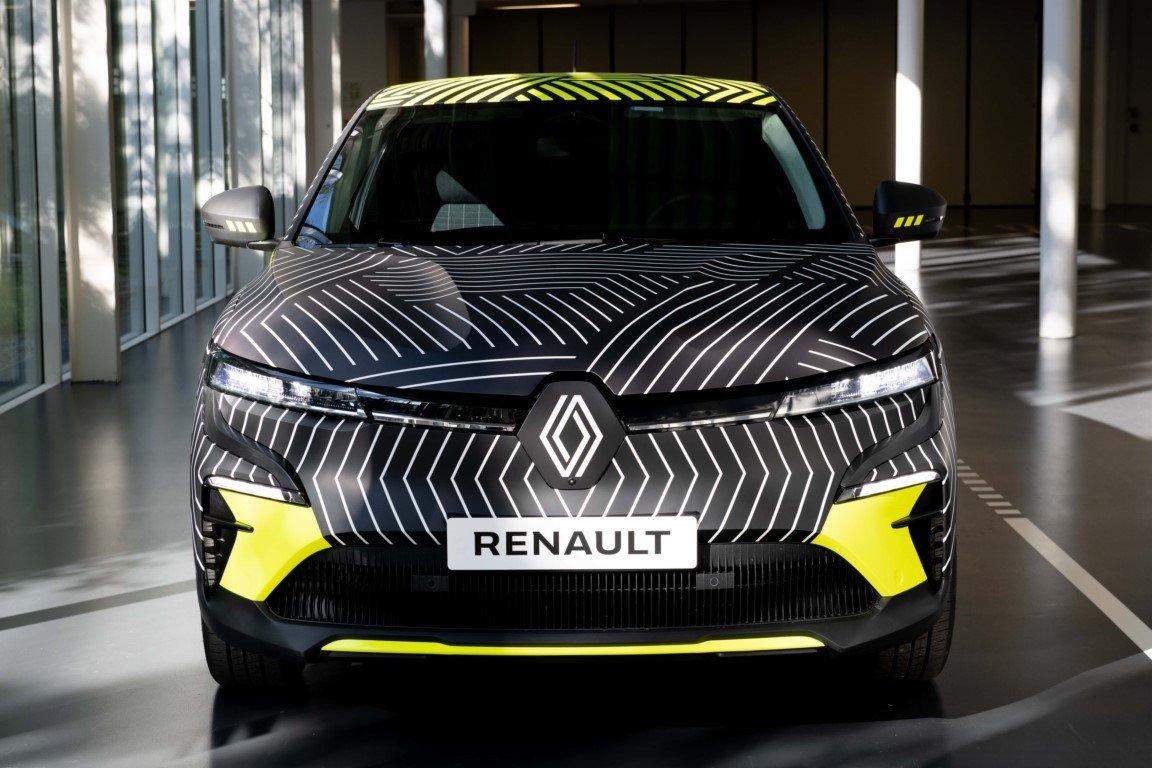 El nuevo Renault Mégane E-Tech Electric 2022 se desnuda en estos teasers
