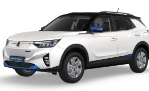 El SsangYong Korando e-Motion, un nuevo SUV eléctrico, ya está siendo fabricado