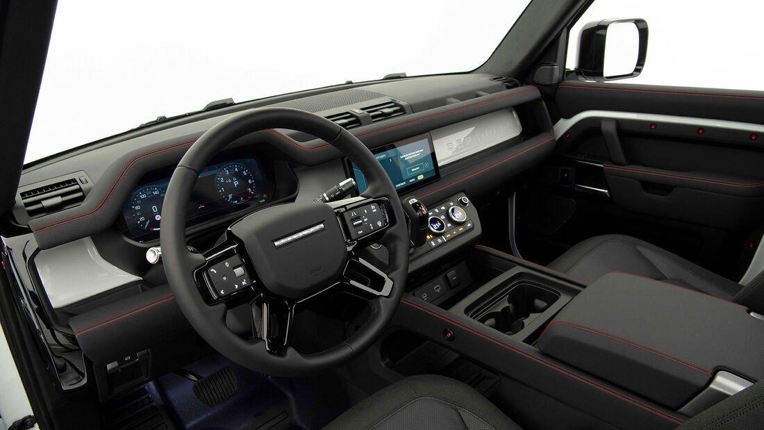 Foto Startech Land Rover Defender 90 - interior