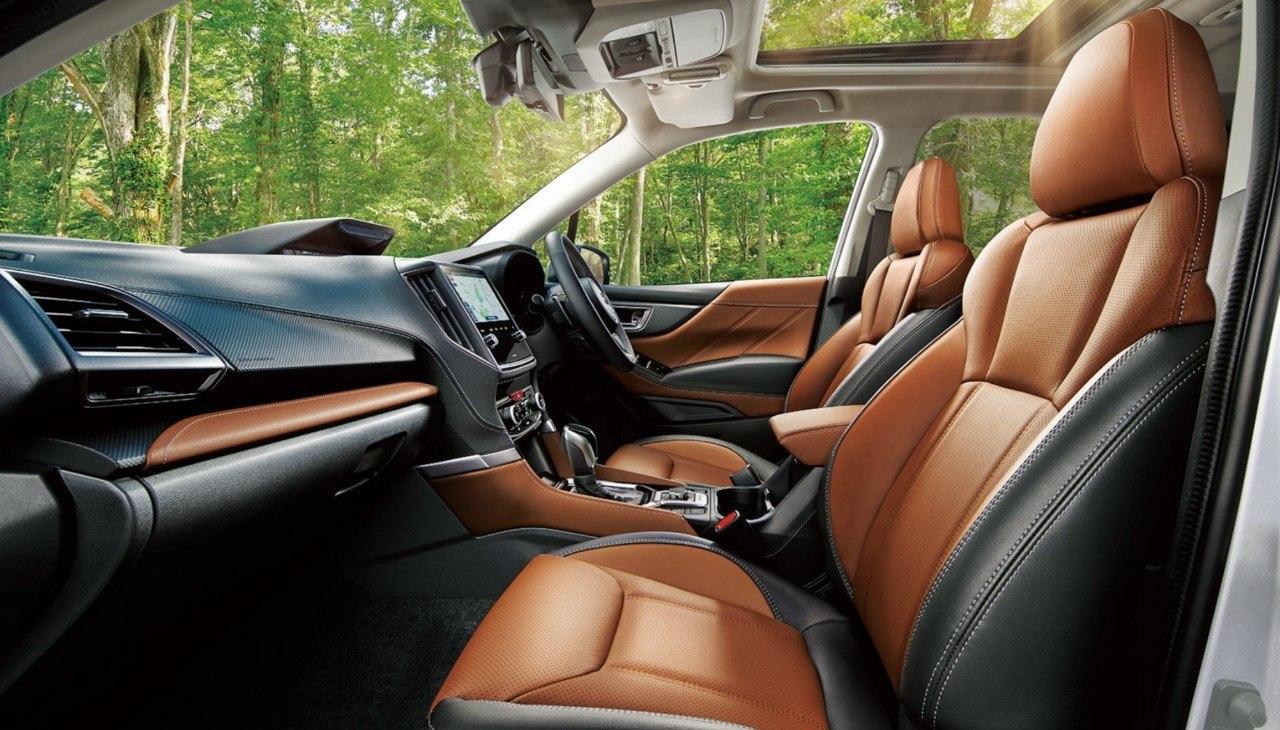 Foto Subaru Forester Restyling 2022 - interior
