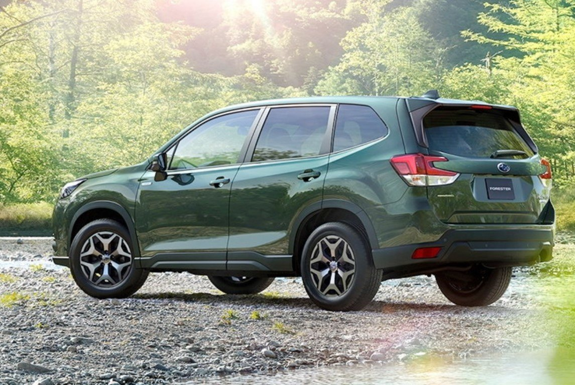 Foto Subaru Forester Restyling 2022 - exterior