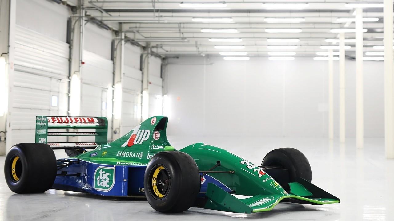 A la venta el Jordan 191 de Schumacher... ¡y qué precio!