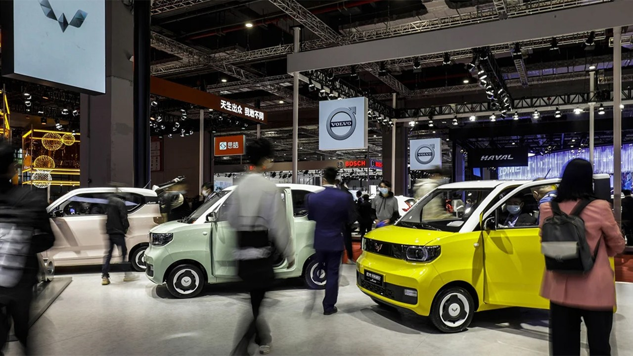 China - Mayo 2021: Las ventas de coches rompen su racha positiva