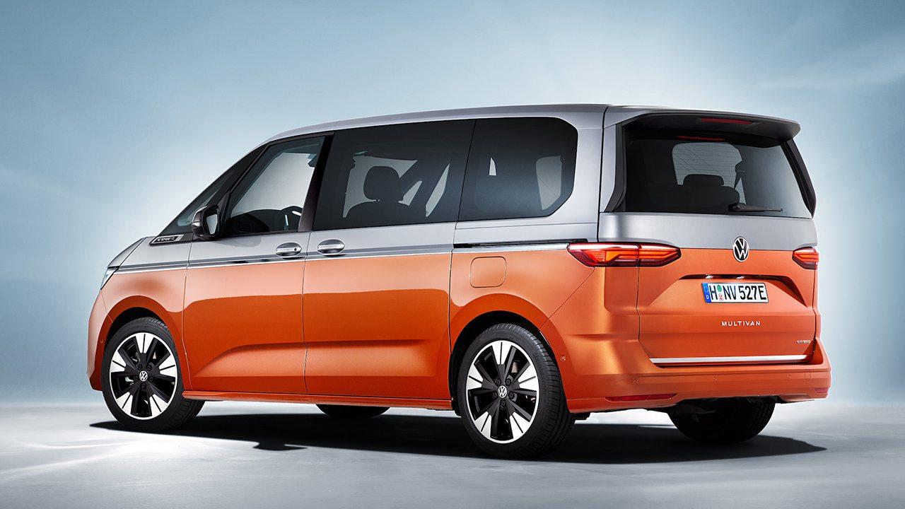 Volkswagen Multivan 2022 - posterior