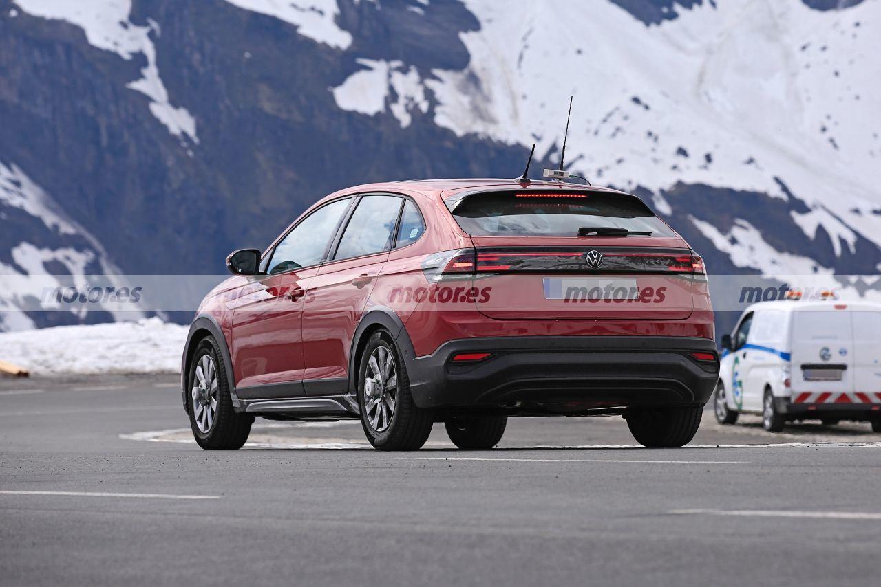 Foto espía Volkswagen Taigo 2022 - exterior