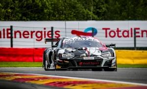 Audi domina los libres y la pre-clasificación de las 24 Horas de Spa