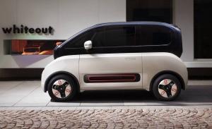 El Baojun Kiwi EV es un futurista prototipo de salón eléctrico llevado a la calle