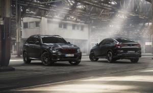 Los BMW X5, X6 y X7 estrenan atractivas y siniestras ediciones Black