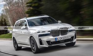 Adelantamos el diseño del BMW X7 Facelift 2023, un estilo más lujoso y distintivo