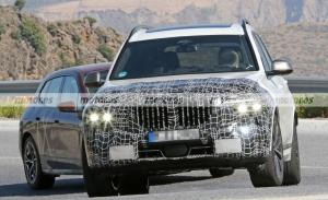 Nuevas fotos espía del BMW X7 Facelift 2023 revelan su moderno interior