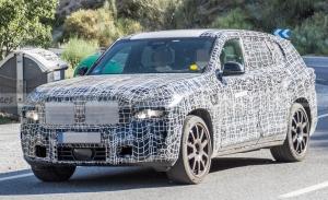 Así será la parrilla del nuevo BMW X8 con mecánica híbrida enchufable