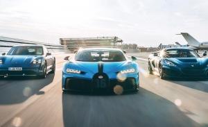 El fabricante de coches eléctricos Rimac toma el control de Bugatti bajo la lupa de Porsche