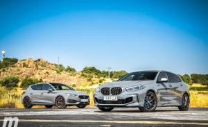 Comparativa CUPRA León vs BMW M135i xDrive, deportivos y compactos (Con vídeo)