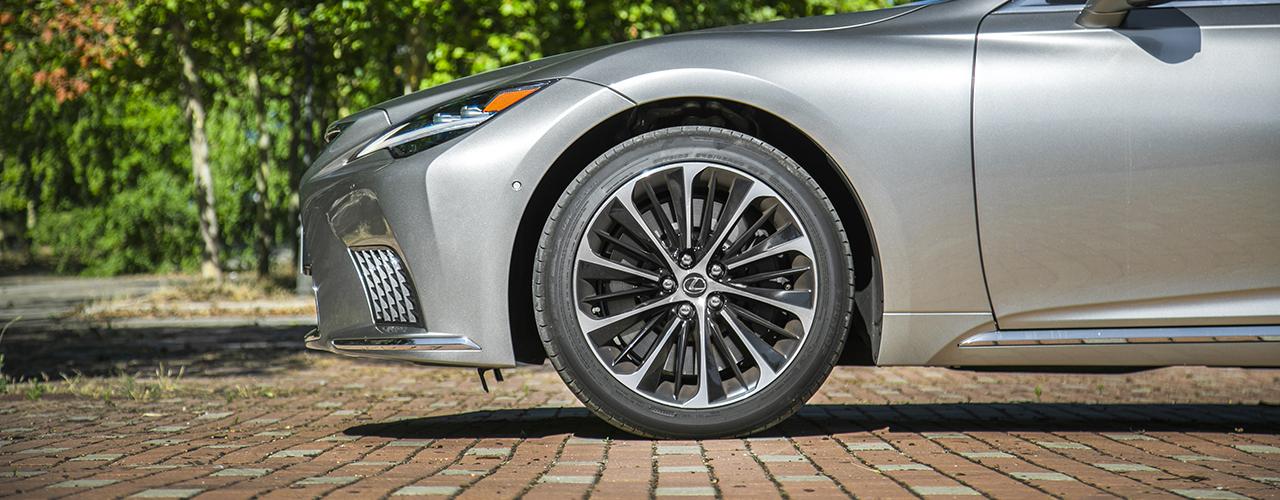 Prueba Lexus LS 500h 2021, déjate llevar