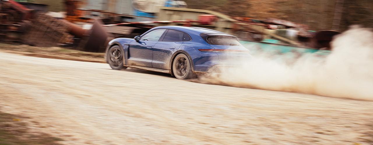 Prueba Porsche Taycan Cross Turismo 2021, versatilidad tridimensional