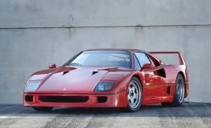 Pieza única: el único Ferrari F40 automático del mundo