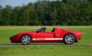 A subasta uno de los pocos Ford GT Spider disponibles fuera de Estados Unidos