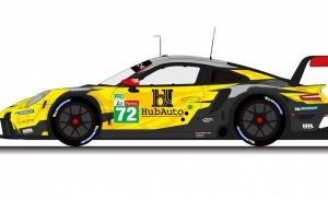 HubAuto Corsa cambia la alineación de pilotos de su GTE para Le Mans
