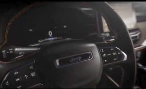 Jeep Commander: al descubierto las primeras imágenes de su espacioso interior