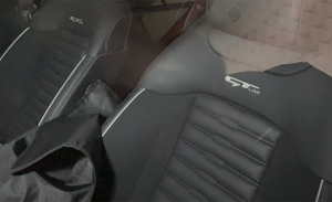 Los asientos del nuevo KIA Sportage 2022 con acabado GT Line al descubierto