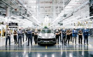 El Lamborghini Urus supera las previsiones, nuevo récord de producción