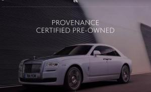 Los usados certificados están ganando popularidad incluso en marcas de lujo, como Rolls-Royce