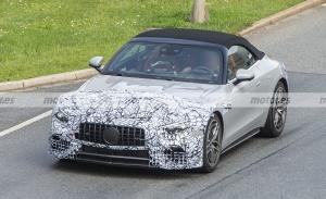 Cazado el nuevo Mercedes SL 2022, más destapado y ¡sin techo!