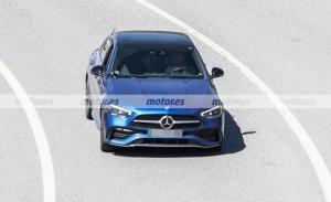 Mercedes Clase C PHEV 2022: fotos espía y secretos de los híbridos enchufables
